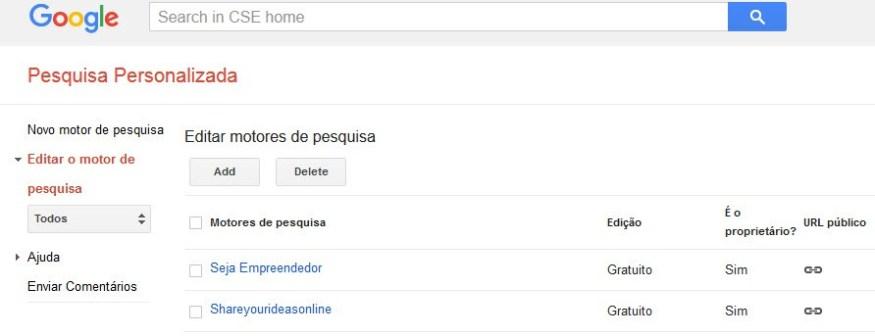 Como Adicionar a Pesquiza Personalizada do Google no Seu Site