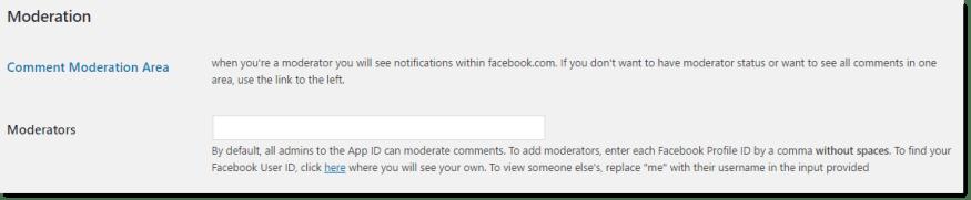 comentários do facebook no wordpress