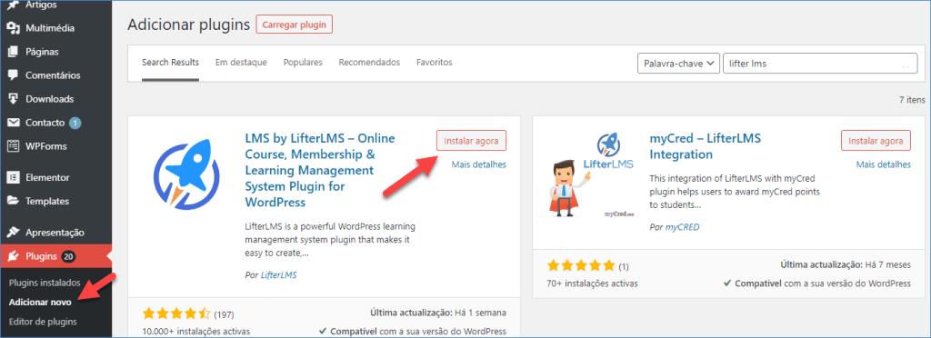 Criar Cursos Online Usando Lifter LMS