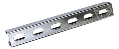 Unicanal perforado 4x4/4x2 galvanizado
