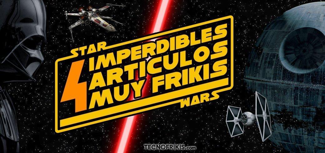 4 artículos muy frikis de Star Wars - Imagen 8 - TECNOFRIKIS