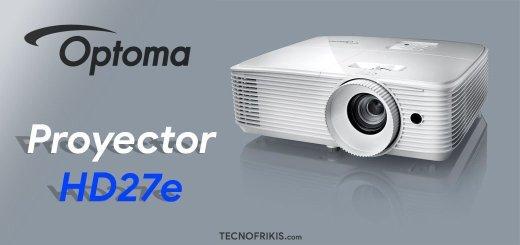 Proyector Optoma HD27e - Imagen 36 - TECNOFRIKIS