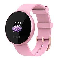 Reloj Inteligente BOZLUN para Mujeres con Monitor de Actividad física, Monitor de Ritmo cardíaco con Pantalla a Color, Impermeable a Prueba de IP68 y Pantalla de Compatible con iPhone Android
