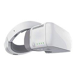DJI Goggles - Gafas FPV inmersivas con pantallas 1920×1080 HD y función de seguimiento de cabeza, diseño ergonómico, 6h de funcionamiento - Blanco