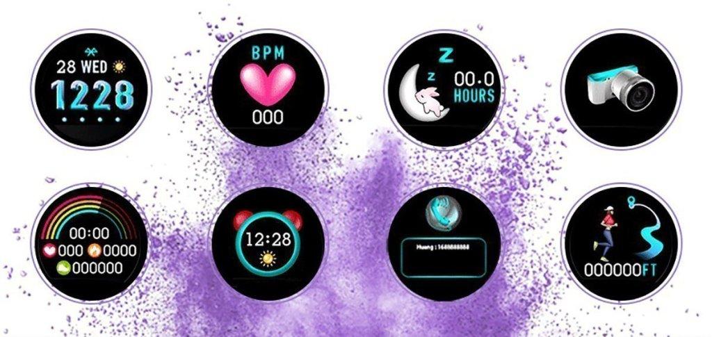 Bozlun B36 Lady, el reloj inteligente exclusivo para ellas - Imagen 37 - TECNOFRIKIS