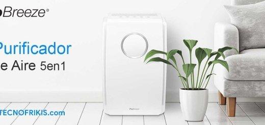 Si estás pensando en mejorar el aire de tu hogar, te presentamos el Purificador de Aire Pro Breeze 5 en 1 - Imagen 2 - TECNOFRIKIS