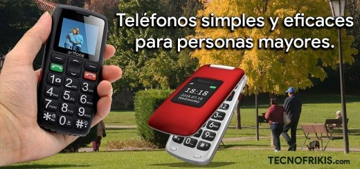 Los 4 mejores teléfonos para personas mayores - Imagen 2 - TECNOFRIKIS