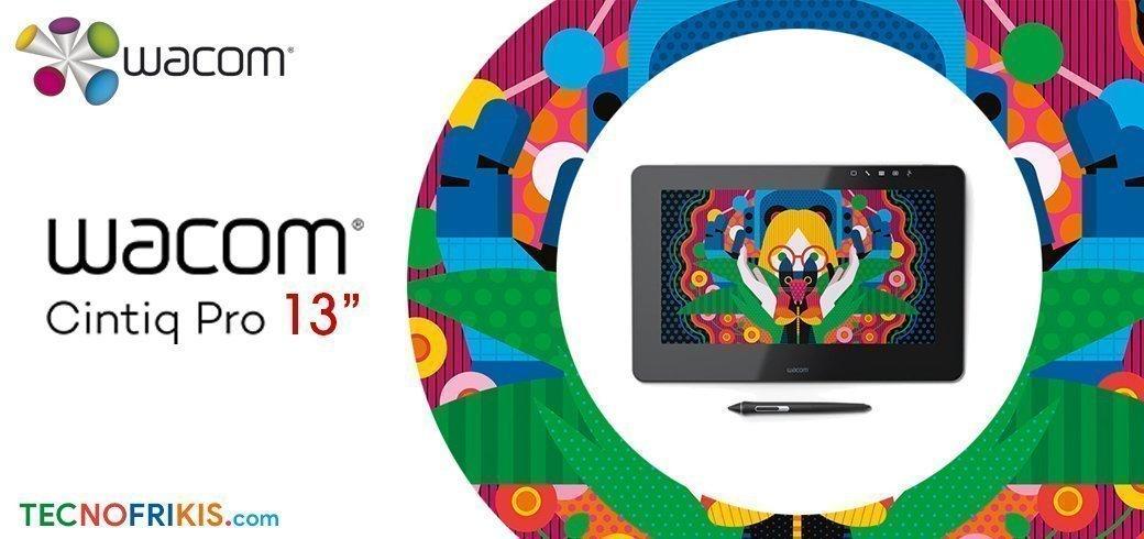 """Wacom Cintiq Pro 13"""" es el monitor interactivo creativo más avanzado, en el formato más pequeño del mercado - Imagen 5 - TECNOFRIKIS"""
