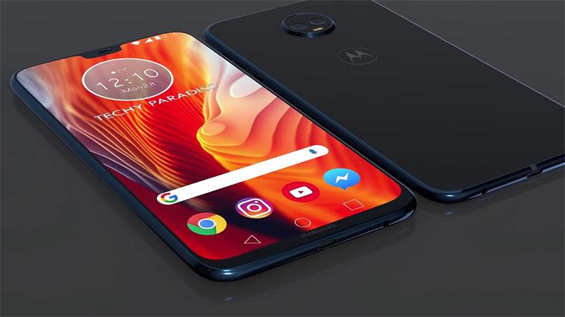 Conceito ilustrativo do Moto G7 Plus 2018