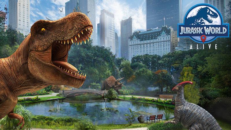 Novo update de Jurassic World Alive corrige as constantes quedas de rede