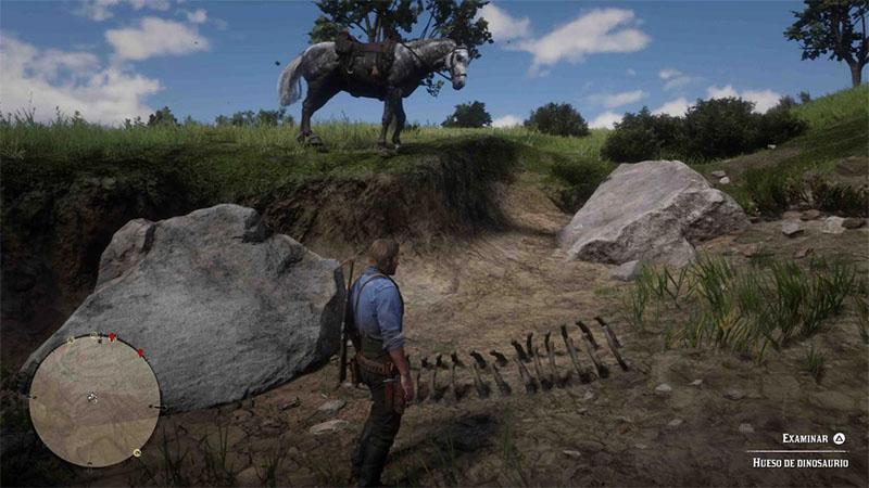Veja onde encontrar todos os ossos de dinossauros em Red Dead Redemption 2