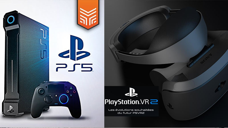 PlayStation 5 e PlayStation VR2 podem estar a caminho