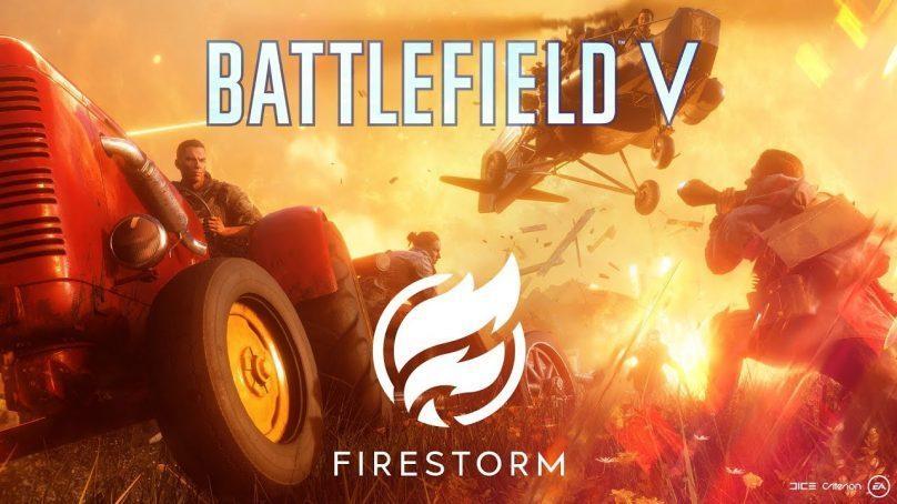 Firestorm, modo battle royale de Battlefield V ganha trailer oficial e data de lançamento