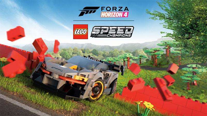 Expansão LEGO Speed Champions já está disponível em Forza Horizon 4