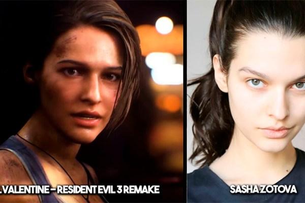 Conheça Sasha Zotova, a modelo russa que interpretou Jill Valentine em Resident Evil 3 Remake