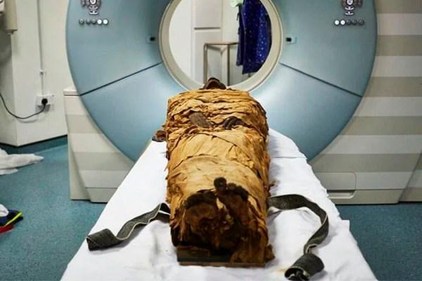 Graças a tecnologia pesquisadores conseguem ouvir a voz de uma múmia de 3.000 anos