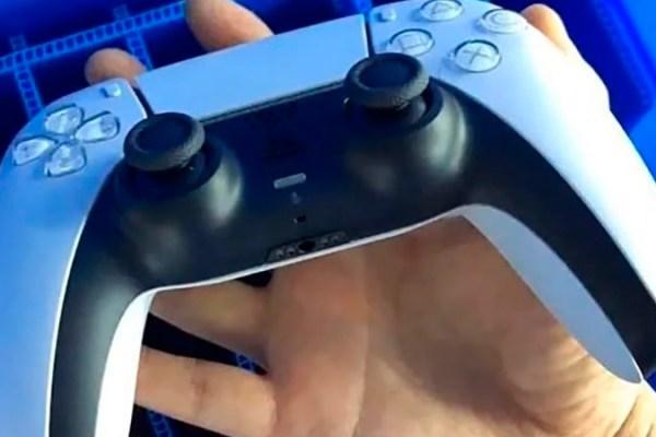 Imagem em novo ângulo do Controle DualSense do PlayStation 5 aparece na internet