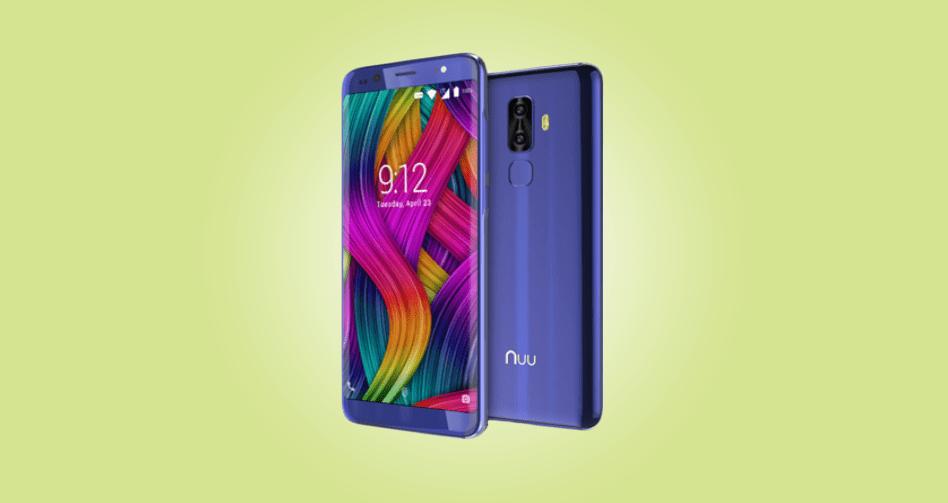NUU Mobile lancia il suo smartphone G3 in Europa