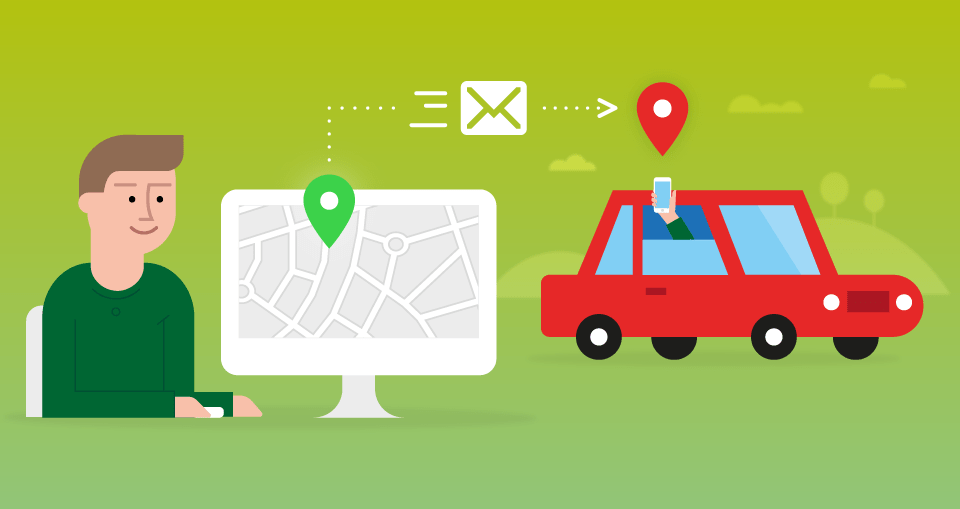 Sygic Maps, il percorso via web per l'app