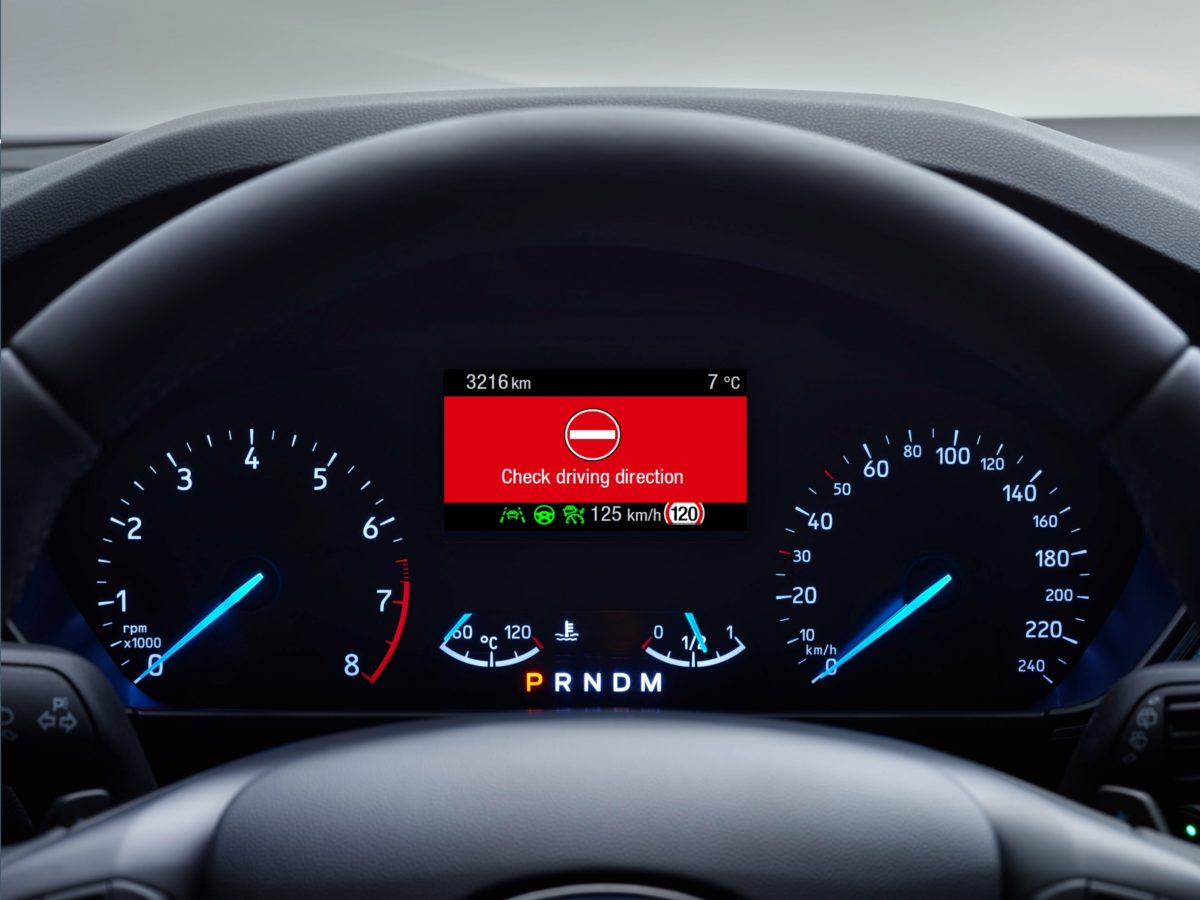 Wrong Way Alert, Ford introduce la tecnologia che evita la guida in contromano