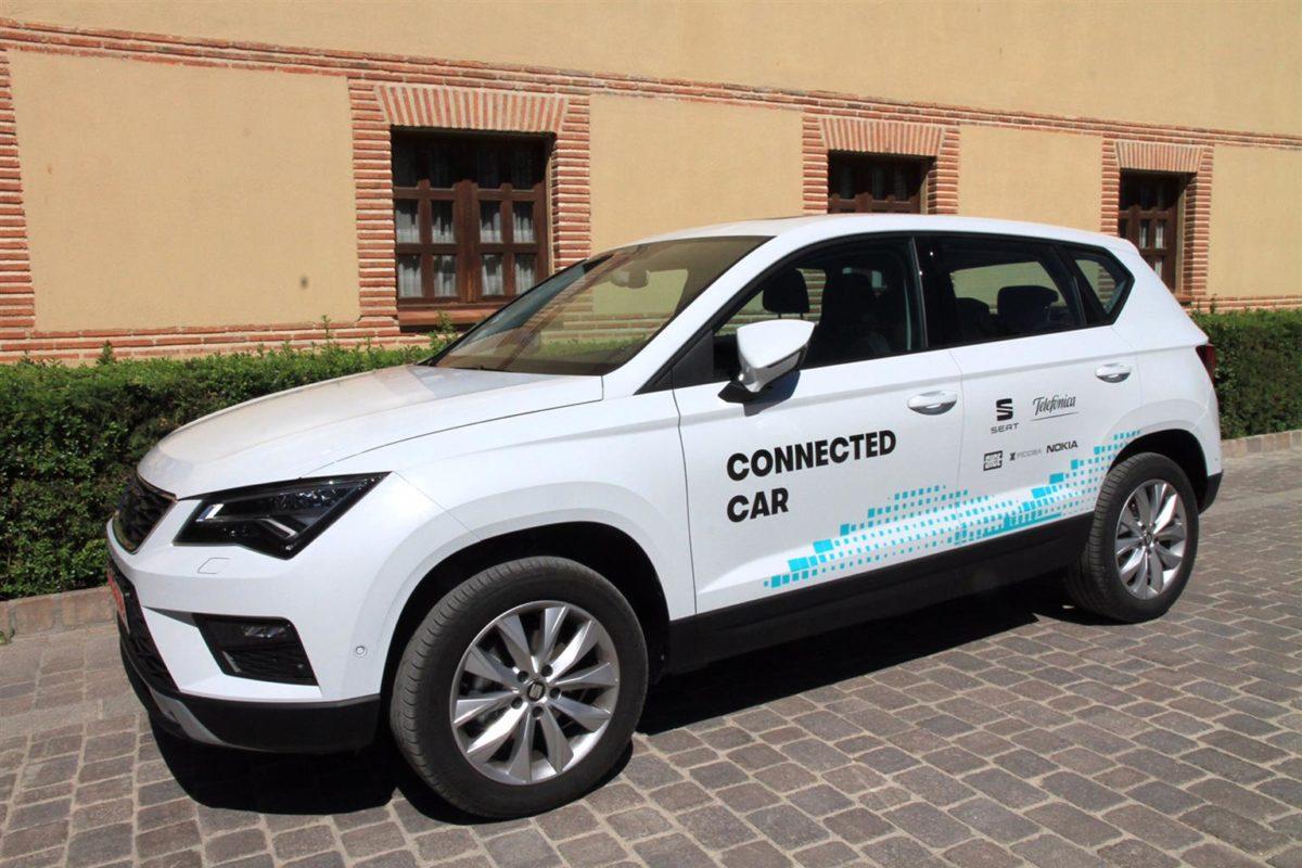 SEAT e Telefónica presentano il primo esempio concreto di utilizzo della guida assistita attraverso la rete mobile in un contesto reale