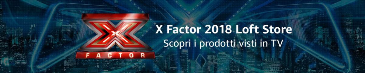 Amazon sponsor di X Factor 2018