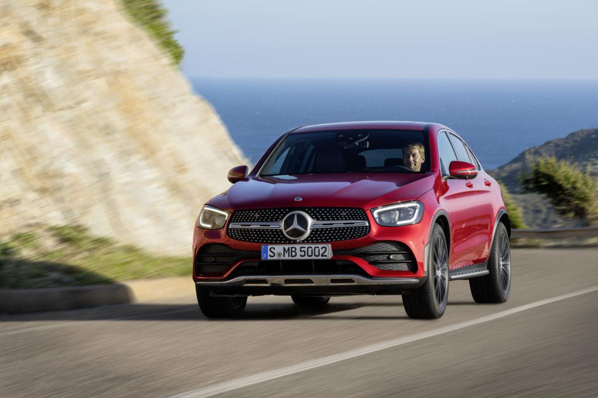 Nuovo Mercedes-Benz GLC Coupé: la dimensione più bella del SUV