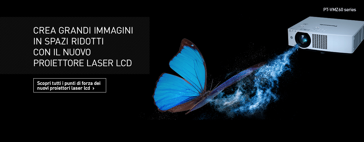 Panasonic migliora la tecnologia di gestione del colore con la nuova serie di proiettori portatili RGB LED