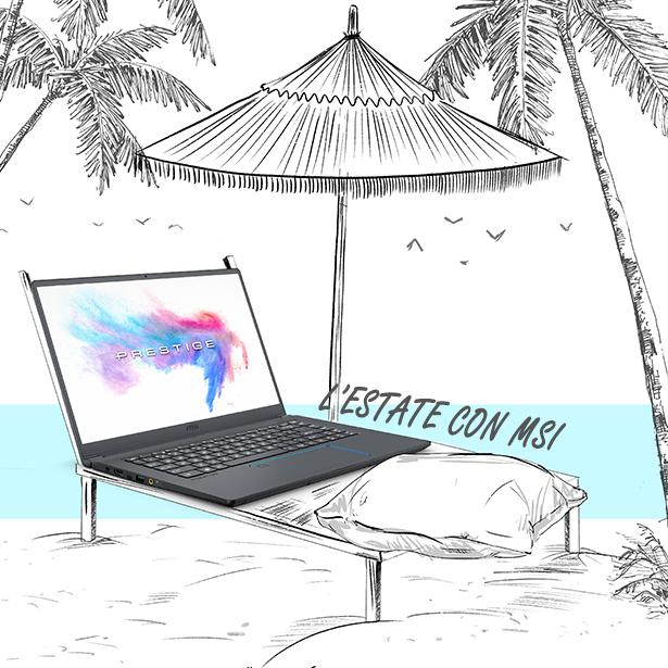L'estate con MSI: fino a 900 euro di sconto su diversi laptop per il gaming e la creatività