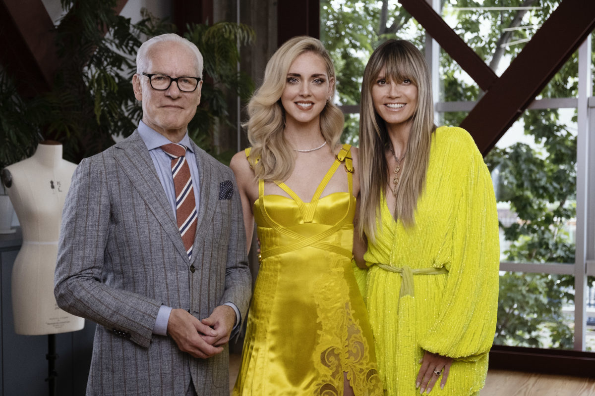 Chiara Ferragni si è unita alla nuova competizione di moda Making the Cut su Amazon Prime Video