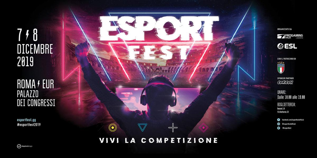 Arriva a Roma EsportFest, la prima manifestazione dedicata agli esport