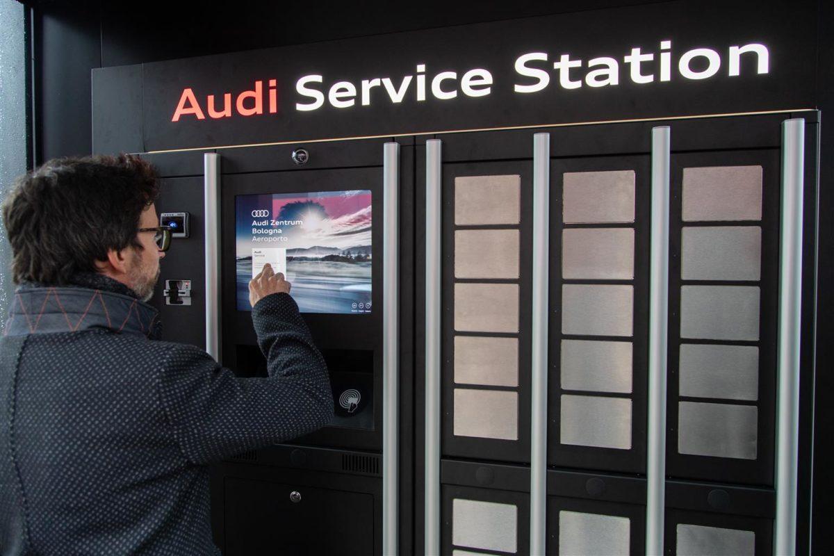 Audi Service Station: la manutenzione non è mai stata così semplice