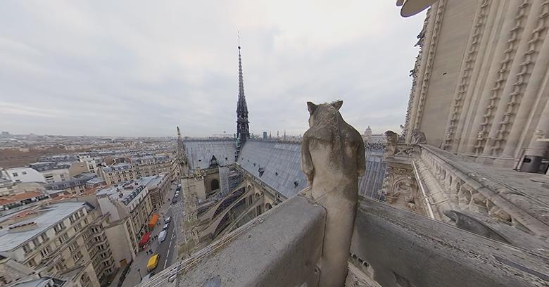 """""""Rebuilding Notre Dame"""", un intimo sguardo alla Cattedrale prima e dopo l'incendio"""