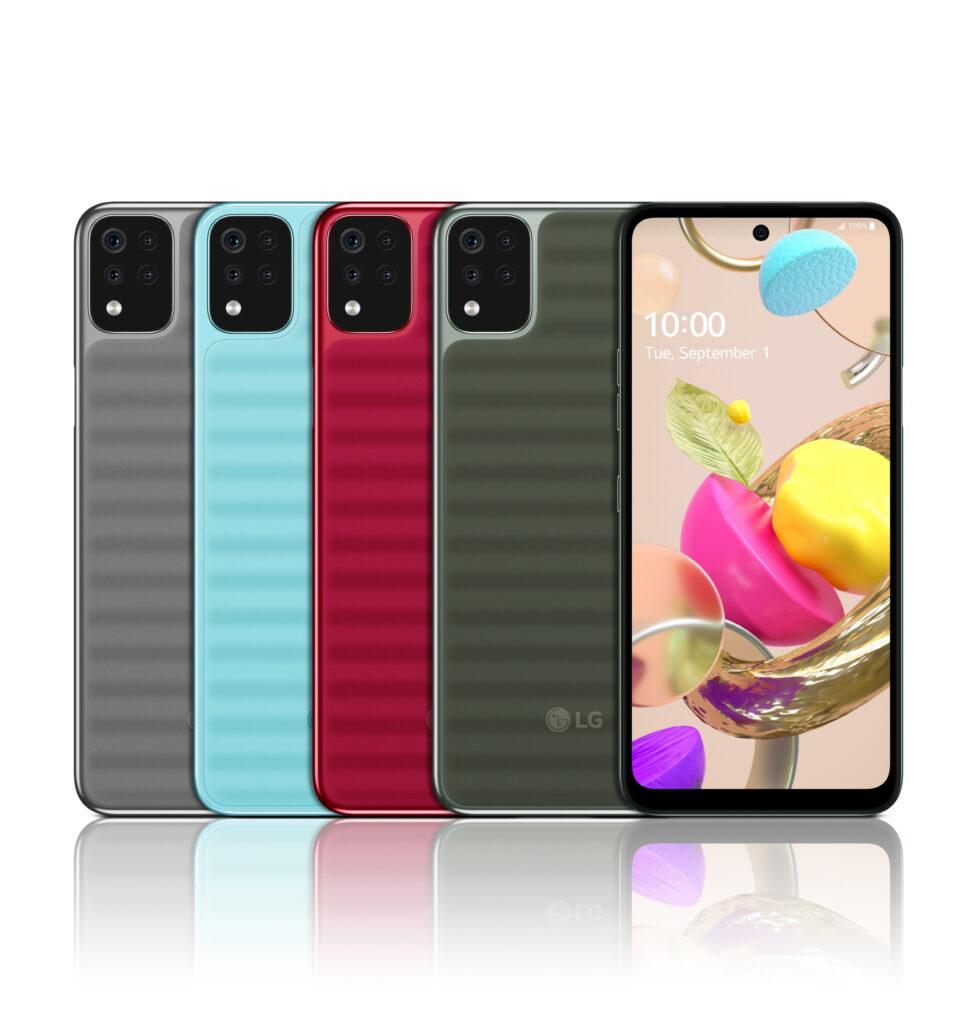 LG, i nuovi smartphone della serie K 2020 disponibili in Italia