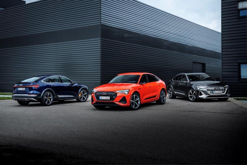 Audi e-tron S e Audi e-tron S Sportback: al via gli ordini delle versioni sportive dei SUV elettrici