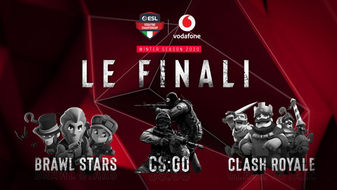 ESL e Vodafone annunciano le finali di ESL Vodafone Championship e la creazione della Virtual Arena