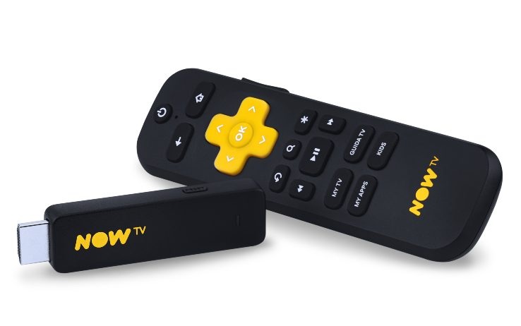 Now TV: la migliore offerta con Cinema ed Entertainment assieme a Now Tv Smart Stick