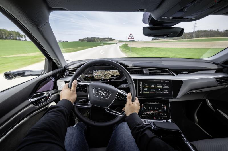 Sterzo Audi: high-tech a portata di mani