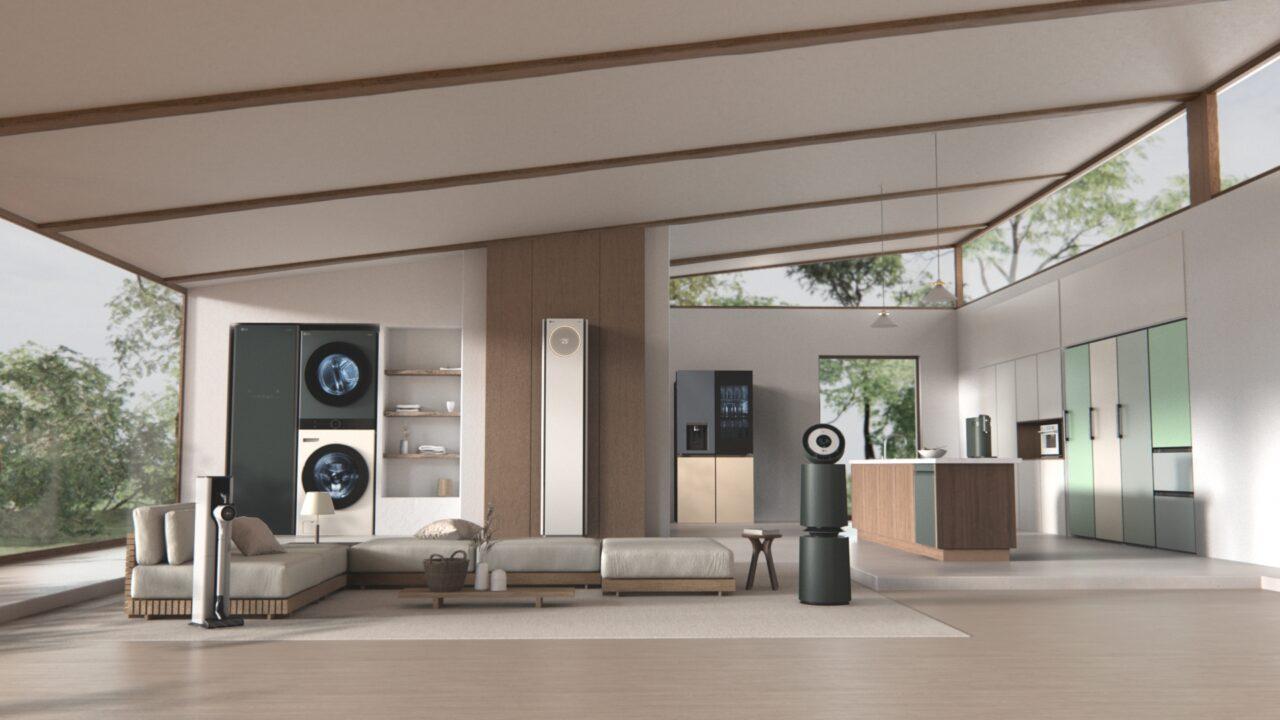 LG Objet, la collezione dedicata alla domanda di elettrodomestici personalizzabili