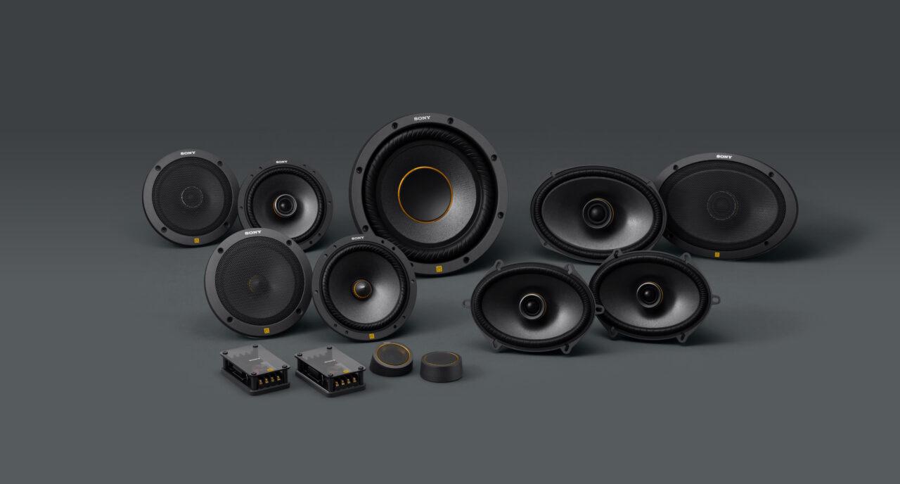 Sony nuova linea per auto Mobile ES per sistemi audio di elevato standard