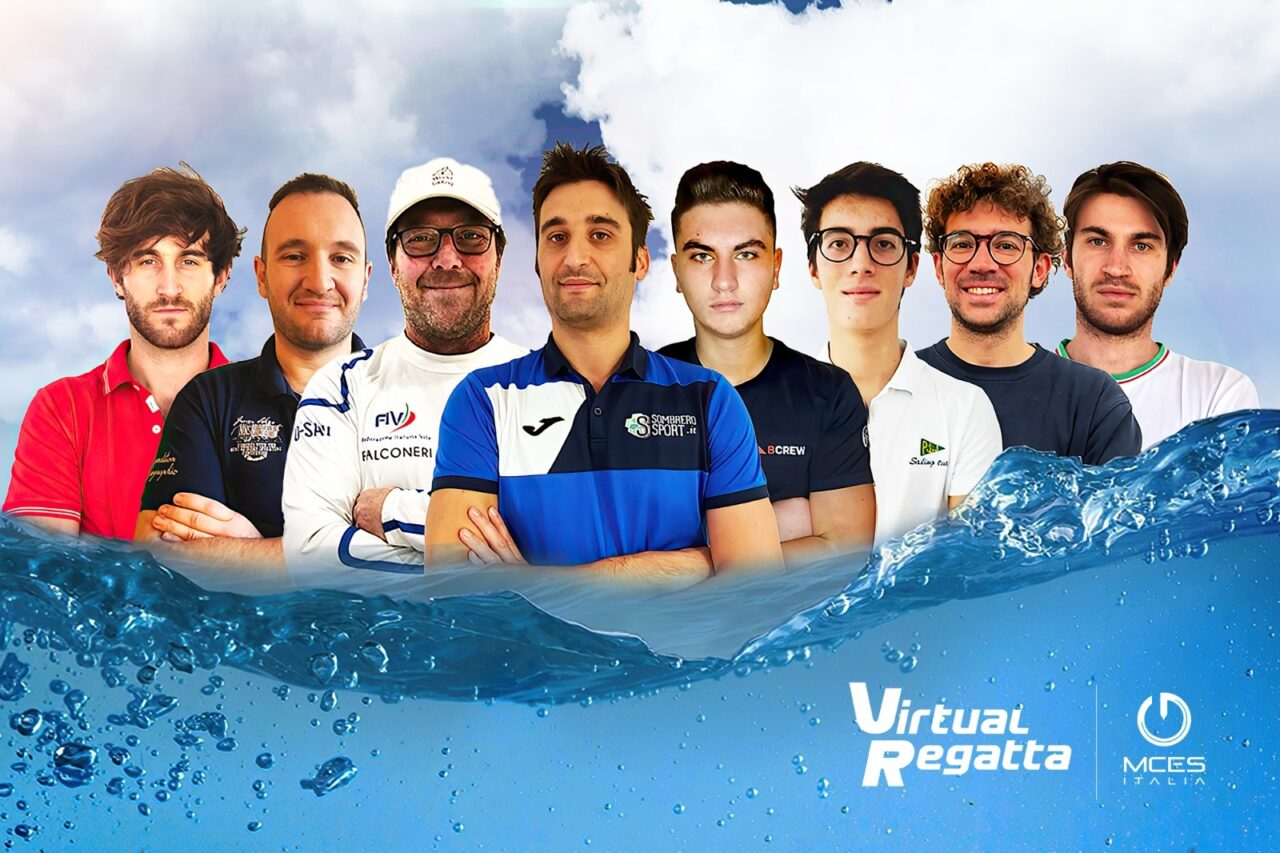 Olympic Virtual Series: MCES Italia alle Olimpiadi virtuali con il team di E-Sailing