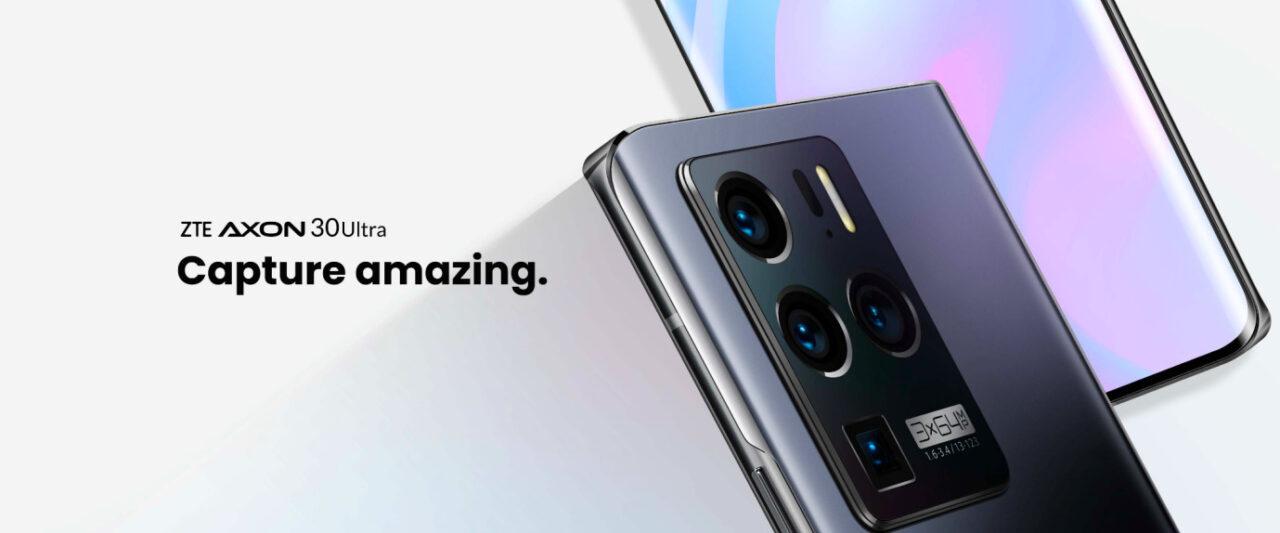 ZTE Axon 30 Ultra è disponibile per il pre-ordine dal 27 maggio