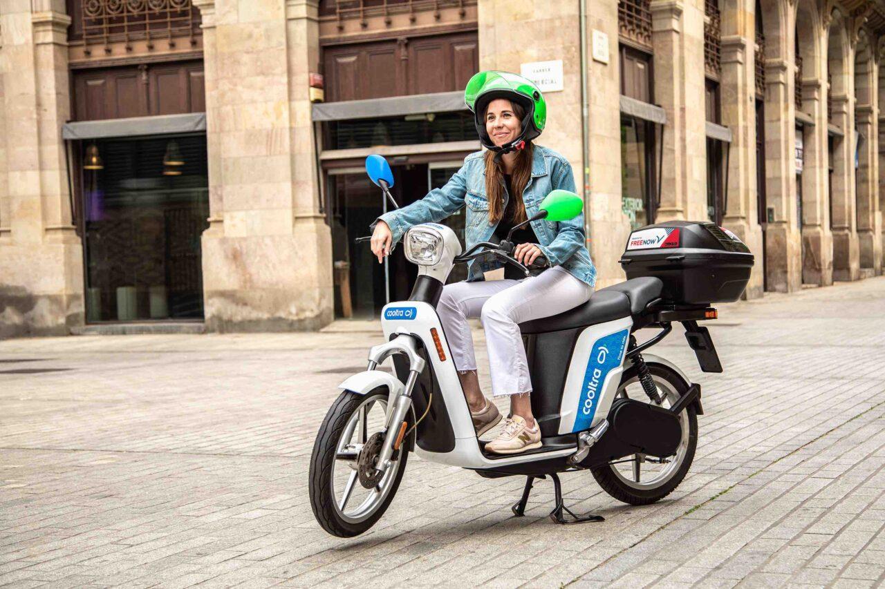 FREE NOW amplia la rete di servizi offerti integrando in App gli scooter in sharing di Cooltra