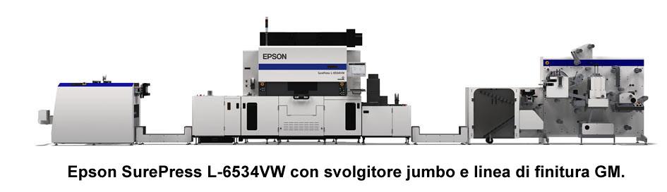Epson amplia la collaborazione con GM per stampa di etichette end-to-end