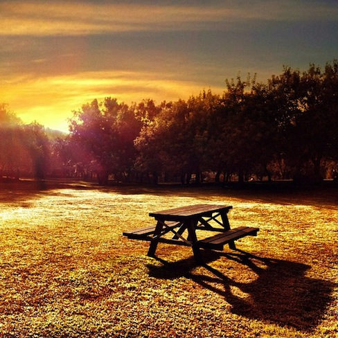 Sunrise, The Bench Series, de Sevillacreativa