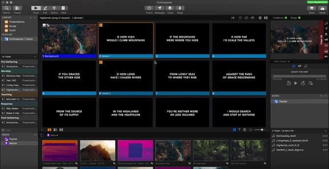 ProPresenter 7: El software de proyección más revolucionario hasta ...