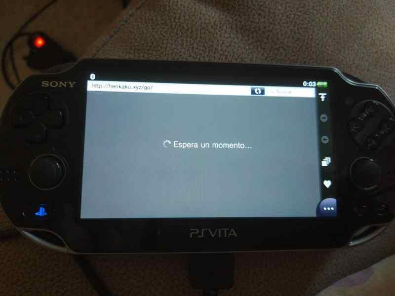 instalando henkaku en PS Vita