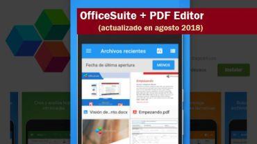 descargar officesuite pdf editor 2018