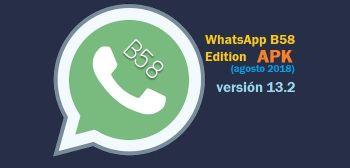 descargar whatsapp b58 apk v13.2