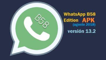 descargar whatsapp b58 13.2